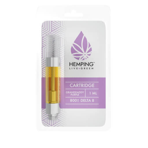 Delta 8 THC Cartridge (Grand-daddy Purple)