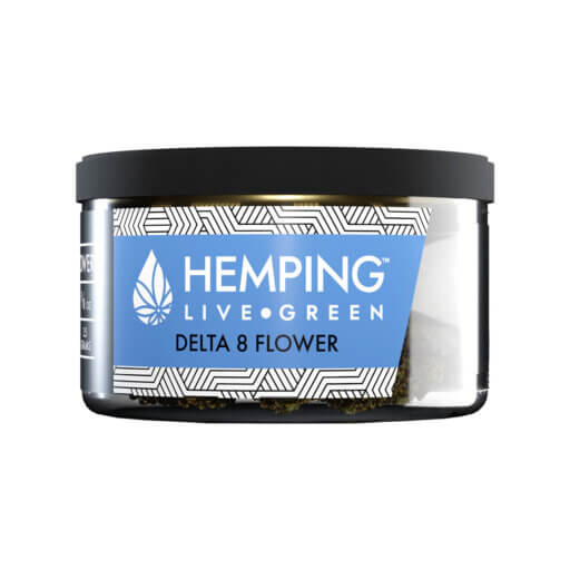 Hemping Delta 8 flower Blue cheese 3.5 gm