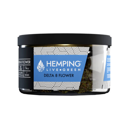 Hemping Delta 8 flower Blue cheese 7 gm