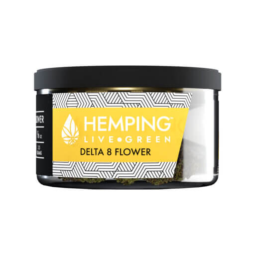 Hemping Delta 8 flower hawaiian haze 3.5 gm
